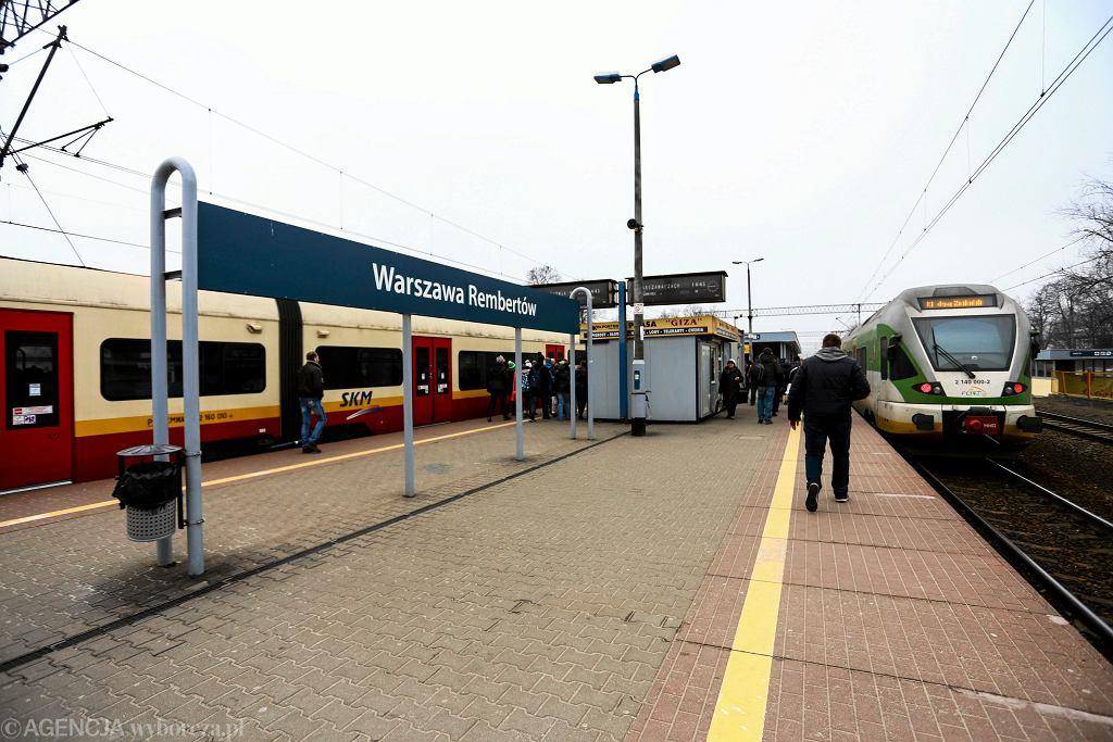 Stacja PKP Warszawa-Rembertów