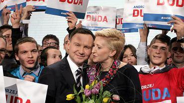 Konwencja wyborcza Andrzeja Dudy. Luty 2015 r.