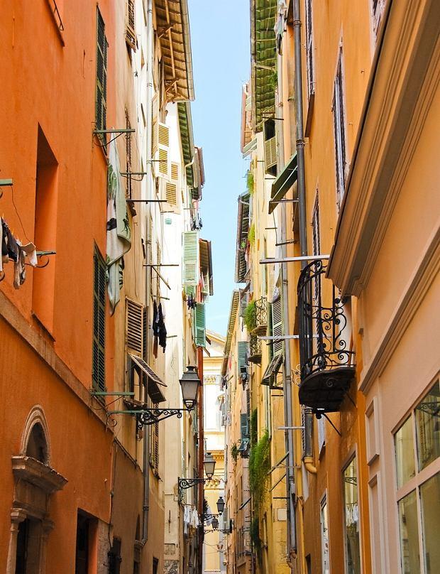Francja miasta - Nicea, Stare Miasto / Shutterstock