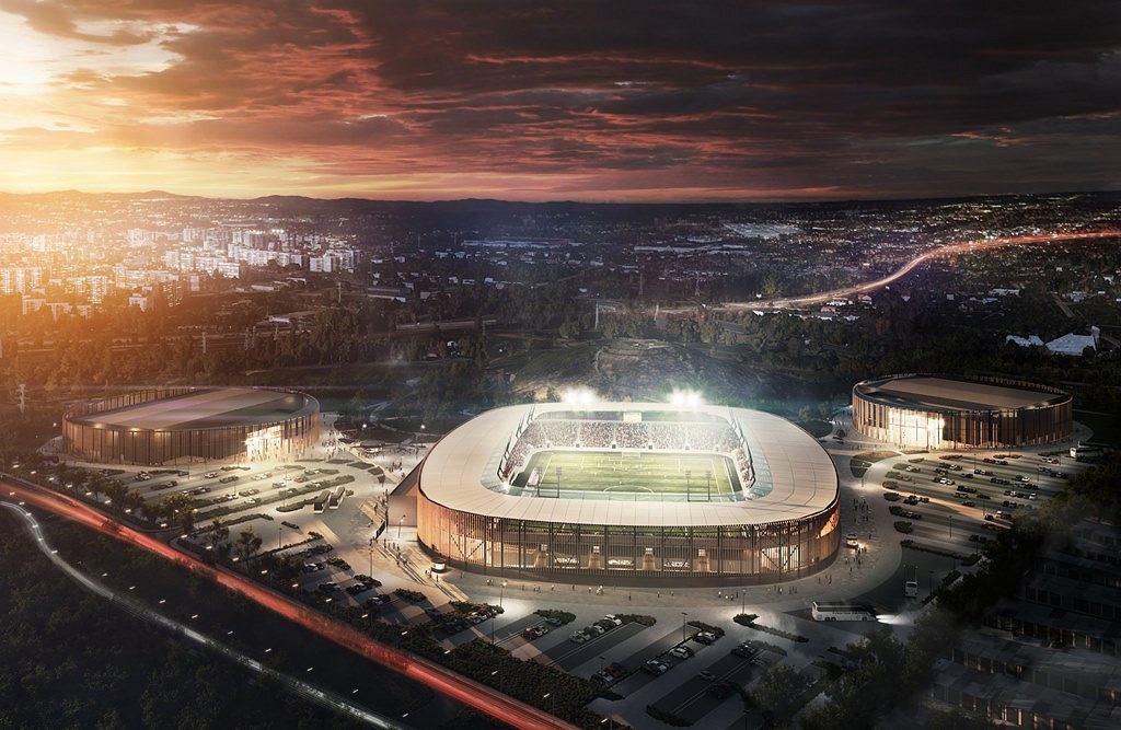 Projekt Zagłębiowskiego Parku Sportowego