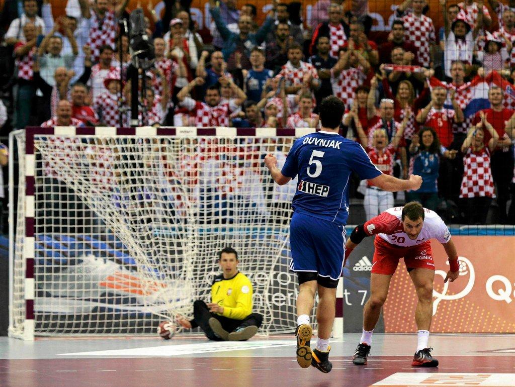 Chorwacja - Polska 22:24