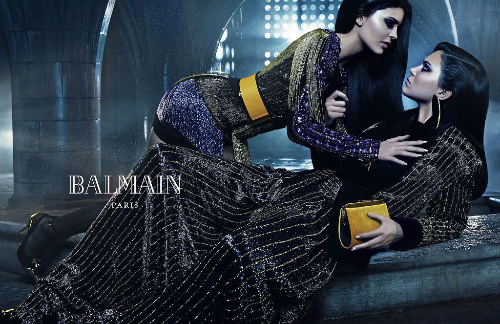 Kampania Balmain jesień 2015 - Kendall i Kylie Jenner