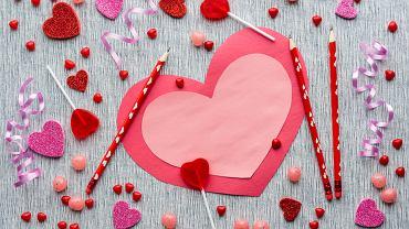 Walentynki dla dzieci. Zdjęcie ilustracyjne