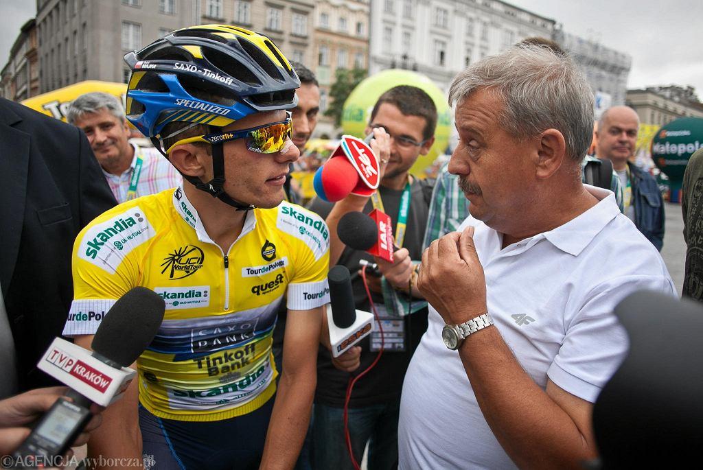 Rafał Majka i Zbigniew Klęk