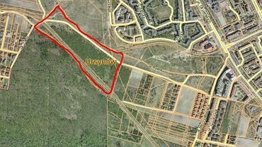 Proponowana lokalizacja wielofunkcyjnego obiektu z torem żużlowym