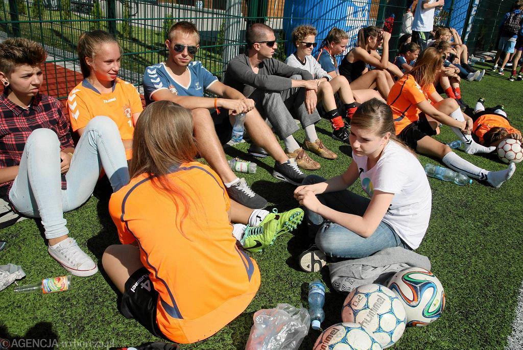 Królewskie podczas Mistrzostw Płocka Dzikich Drużyn w piłce nożnej