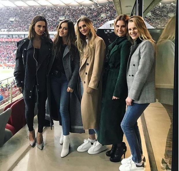 Sara Boruc, Marina, Dominika Grosicka i siostry Sary Boruc
