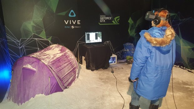 Wyprawa na Mount Everest w HTC Vive