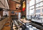 Restauracja Gruby Josek: aranżacja w stylu industrialnym
