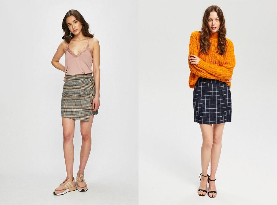 Spódnice w ponadczasową kratę nieustannie pozostają w modzie