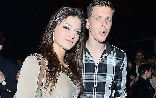 Sandra Dziwiszek i Wojciech Szczęsny.