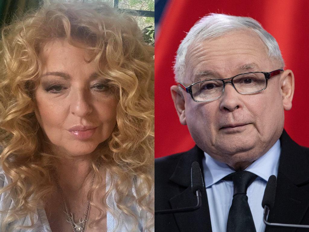 Magda Gessler, Jarosław Kaczyński