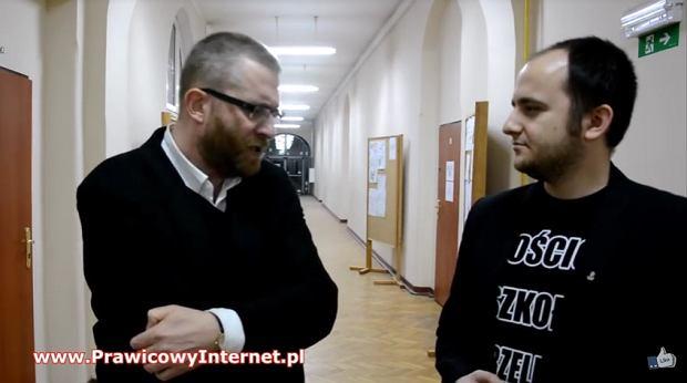 Grzegorz Braun i Dariusz Matecki, fot. YouTube
