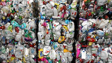 Śmieci w sortowni