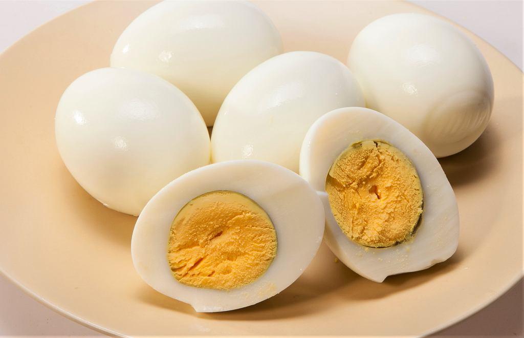Ugotowane jajka