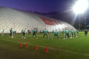 Legia gotowa na zimę. Boczne boisko przykryje balon