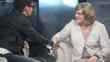 Kuba Wojewódzki i Anna Grodzka