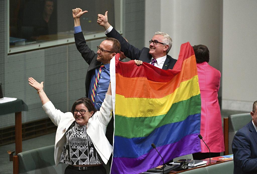 Australia wprowadza jednopłciowe małżeństwa