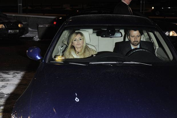 Monika Olejnik, Tomasz Ziółkowski, samochód