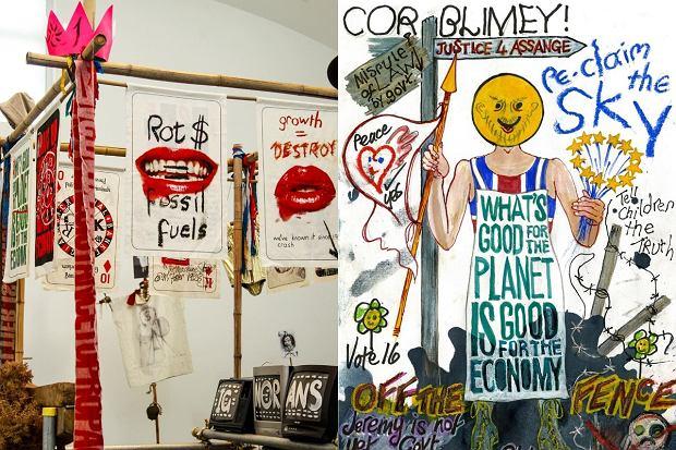 Vivienne Westwood znana jest z silnego zaangażowania w sprawy społeczne i ekologii.
