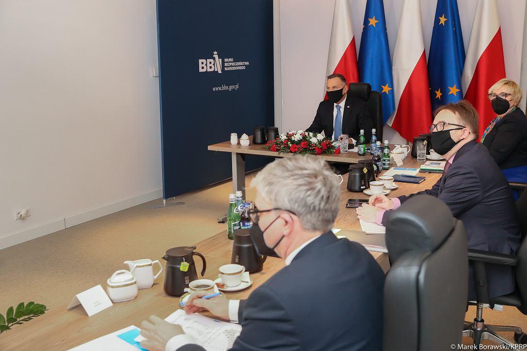 Posiedzenie Rady Gabinetowej