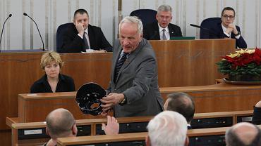 Jan Rulewski w Senacie