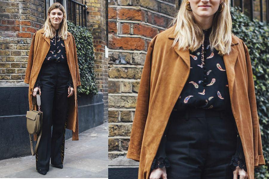 Spodnie z wysokim stanem to idealny wybór do pracy