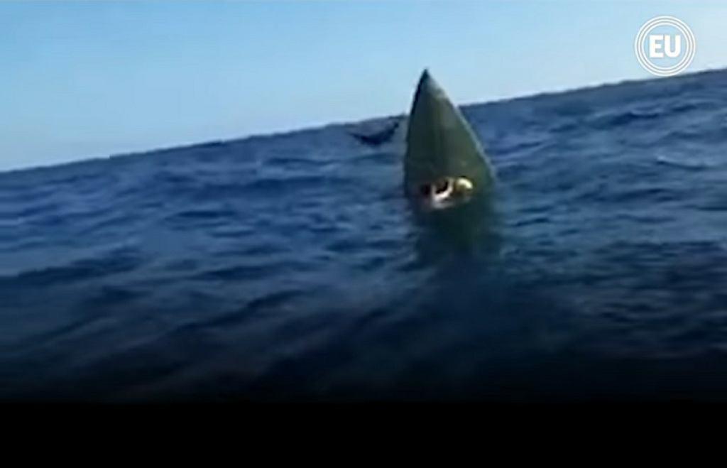 Okręt podwodny znaleziony obok półwyspu Santa Elena, Ekwador