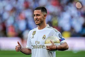 Eden Hazard wybrał numer na koszulce Realu Madryt. Wielkie wyróżnienie