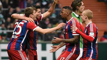 Radość piłkarzy Bayernu Monachium
