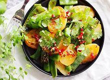 Ziemniaki z patelni z fasolką szparagową - ugotuj