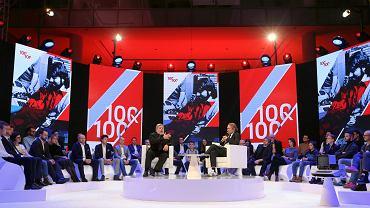Spotkanie ze Stevem Woźniakiem w Warszawie w ramach projektu 100 / 100 Polskiej Fundacji Narodowej.
