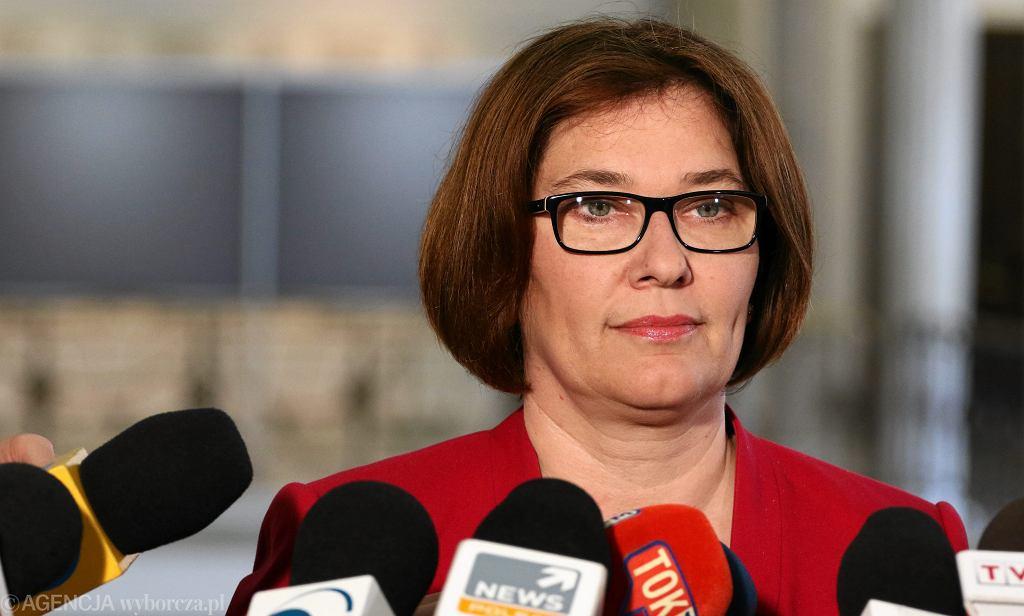 Rzeczniczka prasowa Prawa i Sprawiedliwości Beata Mazurek