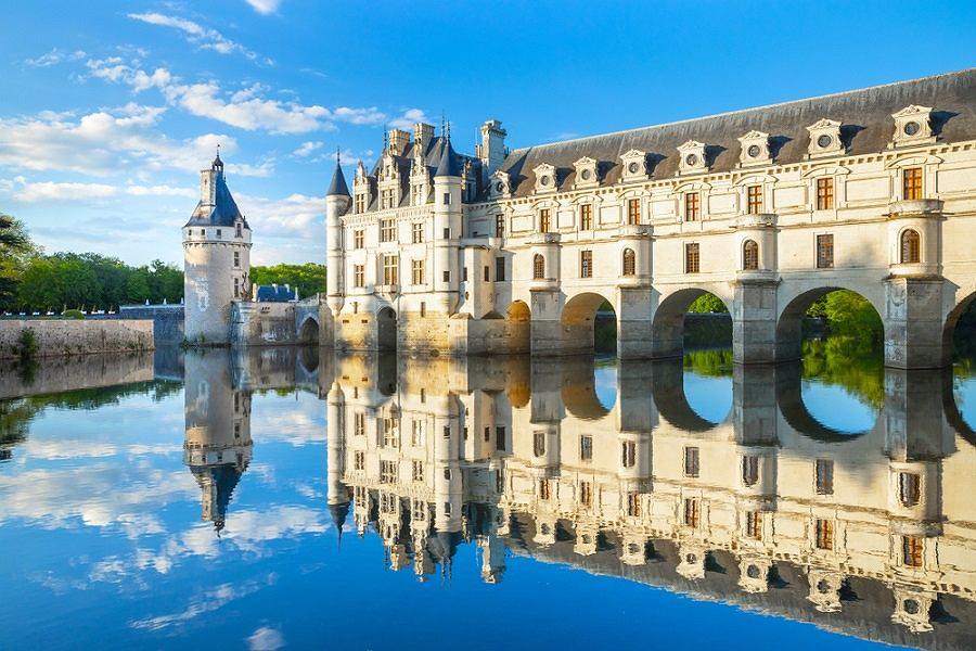 Francja, Zamek Chenonceau w Dolinie Loary