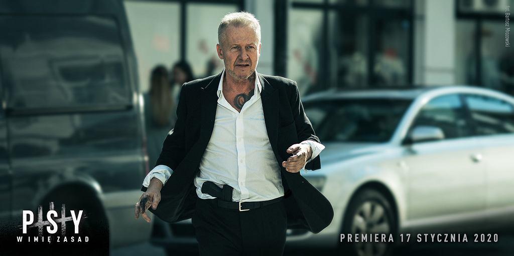 Bogusław Linda w filmie 'Psy 3: W imię zasad'