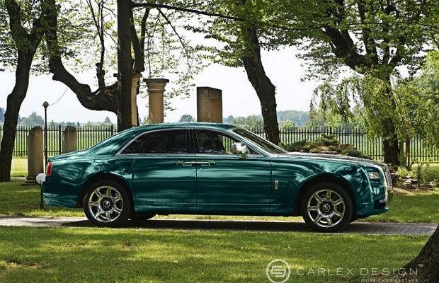 Rolls-Royce Ghost, fot. Carlex Design