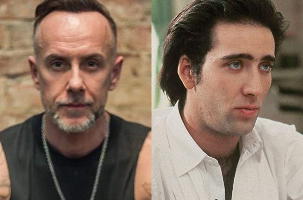 Adam 'Nergal' Darski / Nicolas Cage