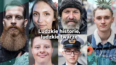 'Ludzkie historie, ludzkie twarze' - projekt Bartosza Cierbikowskiego
