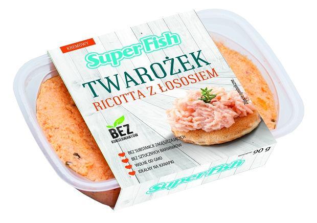 SuperFish Twarożek z łososiem