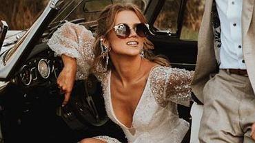 Viola Piekut pokazała niepublikowane zdjęcia ze ślubu Agnieszki Kaczorowskiej. Suknia wciąż zachwyca.