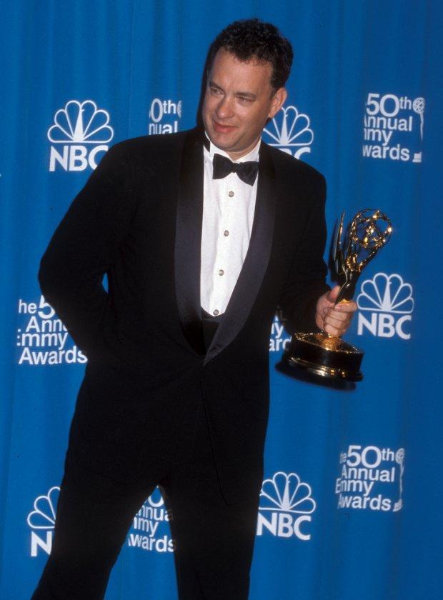 09/13/1998 - Tom Hanks - 50th Annual Primetime Emmy Awards - Press Room - The Shrine Auditorium - Los Angeles, CA. USA - Keywords: Tom Hanks - False -  - Photo Credit: Albert L. Ortega / PR Photos - Contact (1-866-551-7827)
