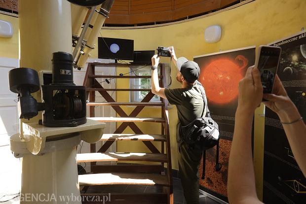 Zdjęcie numer 9 w galerii - Zaćmienie Słońca 2021 z zupełnie innej strony. Weszliśmy do środka Obserwatorium Astronomicznego