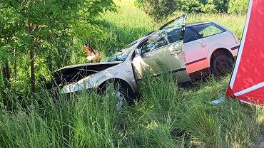 Wypadek drogowego w Koźminie na Dolnym Śląsku. Za sprawcą wydano list gończy (zdjęcie ilustracyjne)