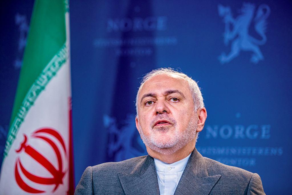 Mohammed Javad Zarif, szef dyplomacji Iranu