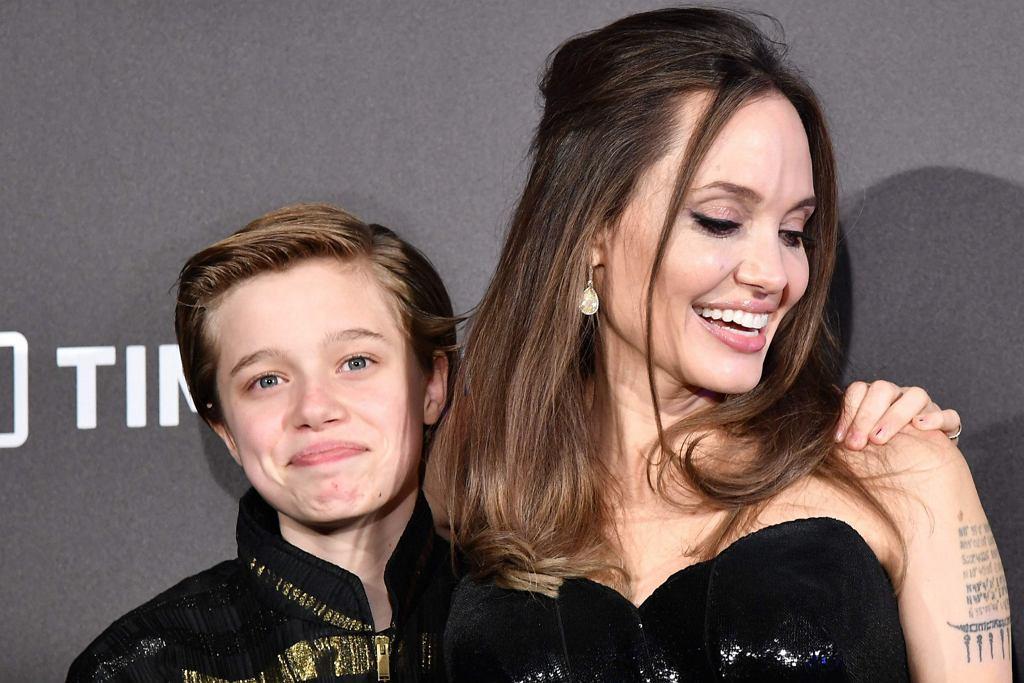 Angelina Jolie z córką