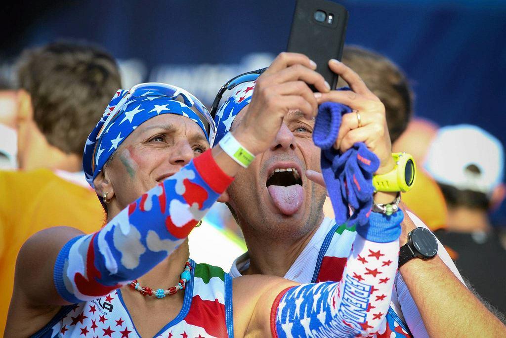 Selfie z maratonu w Nowym Jorku? Wiadomo, podstawa!