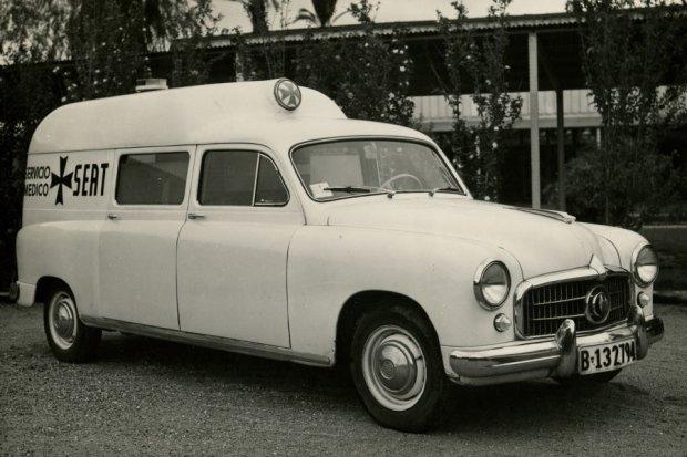 Seat 1400 Ambulans (fot. Seat)