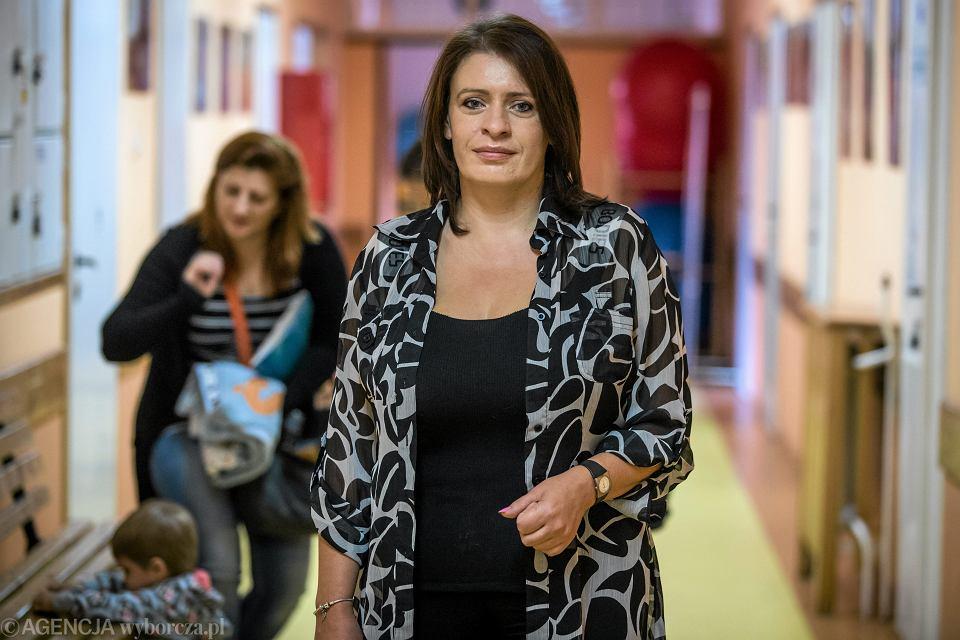 Anna Chwałek - prezes stowarzyszenia Wspólny Świat, które pomaga dzieciom chorym na autyzm, 2016 r.
