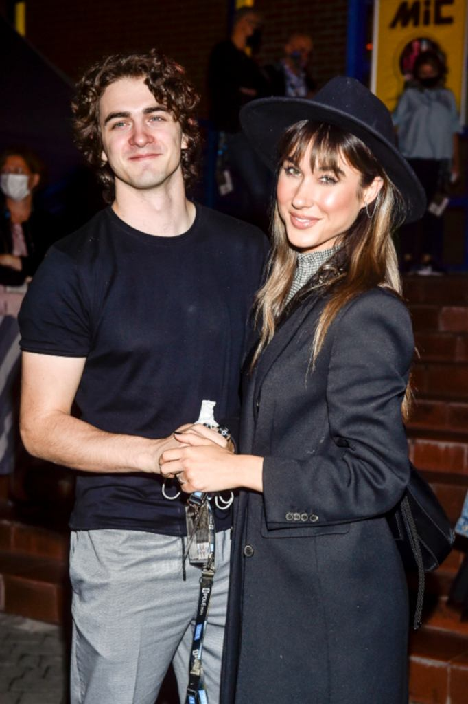 Ida Nowakowska z mężem