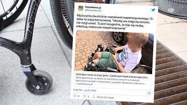Mężczyzna zaatakował 13-latka z niepełnosprawnościami